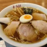 大海軒 - 小盛チャーシューワンタン麺