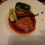 Le Salon de Legumes - 山形産 豚肩ロースのロティ(妻)