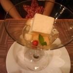Le Salon de Legumes - 白桃とネクターのクープ仕立て           (妻)