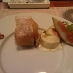 Le Salon de Legumes - 無花果と胡桃のタルト仕立て