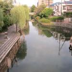 伏見駿河屋 - 伏見駿河屋すぐの橋「京橋」からの眺め