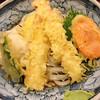 ぶっかけうどん あつた屋 - 料理写真:天ぷらぶっかけ(おろしトッピング)