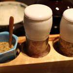 馬酔木 - 塩は3種類