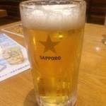 炭の力 - 生ビール