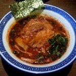 らー麺 にしかわ - 辛いラーメン!(2014,8/26)