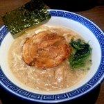 らー麺 にしかわ - とんこつしょうゆラーメン!(2014,8/26)
