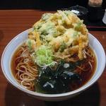 蕎麦源 - かき揚げ天ぷら蕎麦¥540