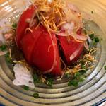 カネショウ - まるごとトマトのツナサラダ¥480税抜