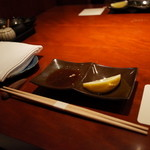 赤坂 みすじ - テーブル・セッティング 2014.8.3x