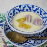 クンメー2 - タロイモとかぼちゃのココナッツミルク