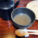 30285697 - 鴨せいろの蕎麦湯