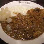 CoCo壱番屋 - チキン煮込みキノコカレー(14-08)