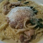 Italian Dining CUCINA  - チキンとセルバチコのクリームソース アップ