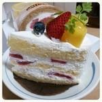 30290986 - ショートケーキ断面(・∀・)