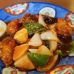 桃林 - 酢豚セット