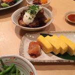 30292350 - 〈2014/08夜〉出汁巻き玉子、角煮