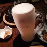 30293578 - キンキンに冷えたエビス生ビール