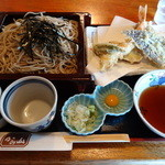 かみ山 - 天ざる(1,400円)