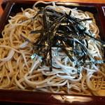 かみ山 - ざる蕎麦(単品、780円)