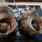 漁港酒場 鯛将丸 - サザエのツボ焼き