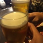 旬魚と日本酒 和食りん 渋谷店 - 生ビール