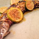 ベーシス エー - 季節限定サンマの青レモン、かぼす、スパイス焼き