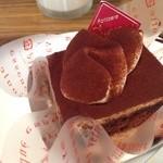 上島珈琲店 - 生チーズと豆乳のティラミス