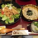 三宝庵 - チキン南蛮丼セット