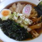 ひまわり - 料理写真:ひまわりラーメン¥290