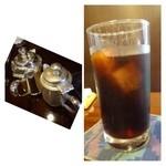 珈琲のシャポー - アイスコーヒーとしては美味しい珈琲です。
