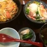 30300628 - 穴子とカニの卵とじ?!