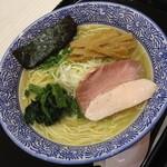 麺屋 一燈 - 芳醇香味そば塩(800円)2014年8月