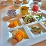 香桃 - 野菜の冷菜盛り合わせ