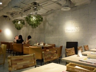カフェ アンド - 店内の雰囲気