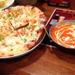 インド&ネパールレストラン&バー サグン - クルチャとバターチキンマサラ