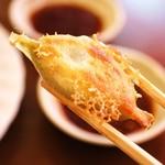 東北餃子館 - 焼餃子は食べやすい一口サイズ( ´ ▽ ` )ノ