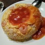 30307590 - たっぷりトマトの海老玉炒飯(890円税別)です。