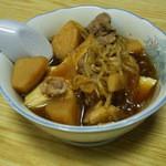 もとやくし食堂 - 肉じゃが豆腐