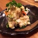 とり吉 - 芋がゴロリとしたポテトサラダ!