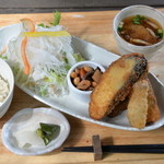 モクモク - 料理写真:茄子の挟み揚げ