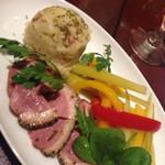 30312431 - 前菜的な、この肉うまー