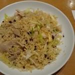 万豚記 - 豚ネギ塩炒飯(¥928)