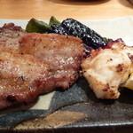 30312508 - 豚とタコの串焼き