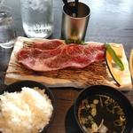 貴韓房 - 炙り焼きステーキセット