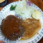 30316783 - 井坂煮とハンバーグいずれも手作り感があってとても美味しい