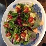 海老とアボカドの生春巻きサラダ