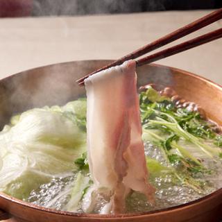 有名人・著名人に人気の「鹿児島黒豚ばら肉しゃぶしゃぶ鍋」