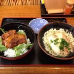 番所亭 - ソーキ丼  小すばセットA