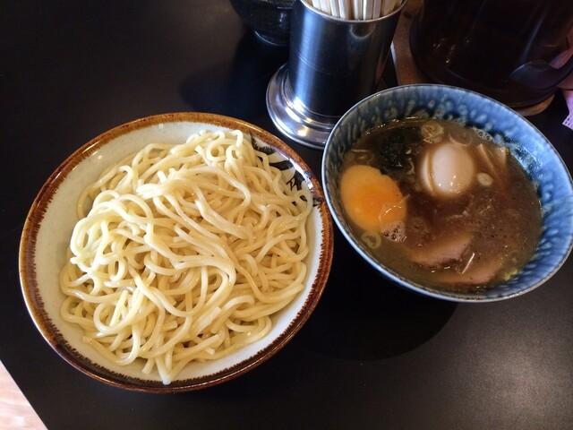 麺屋 ごとう - 特製もりそば&煮玉子201408