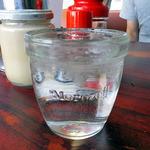杭州飯店 - コップはモロゾフのプリンカップの転用です(笑)